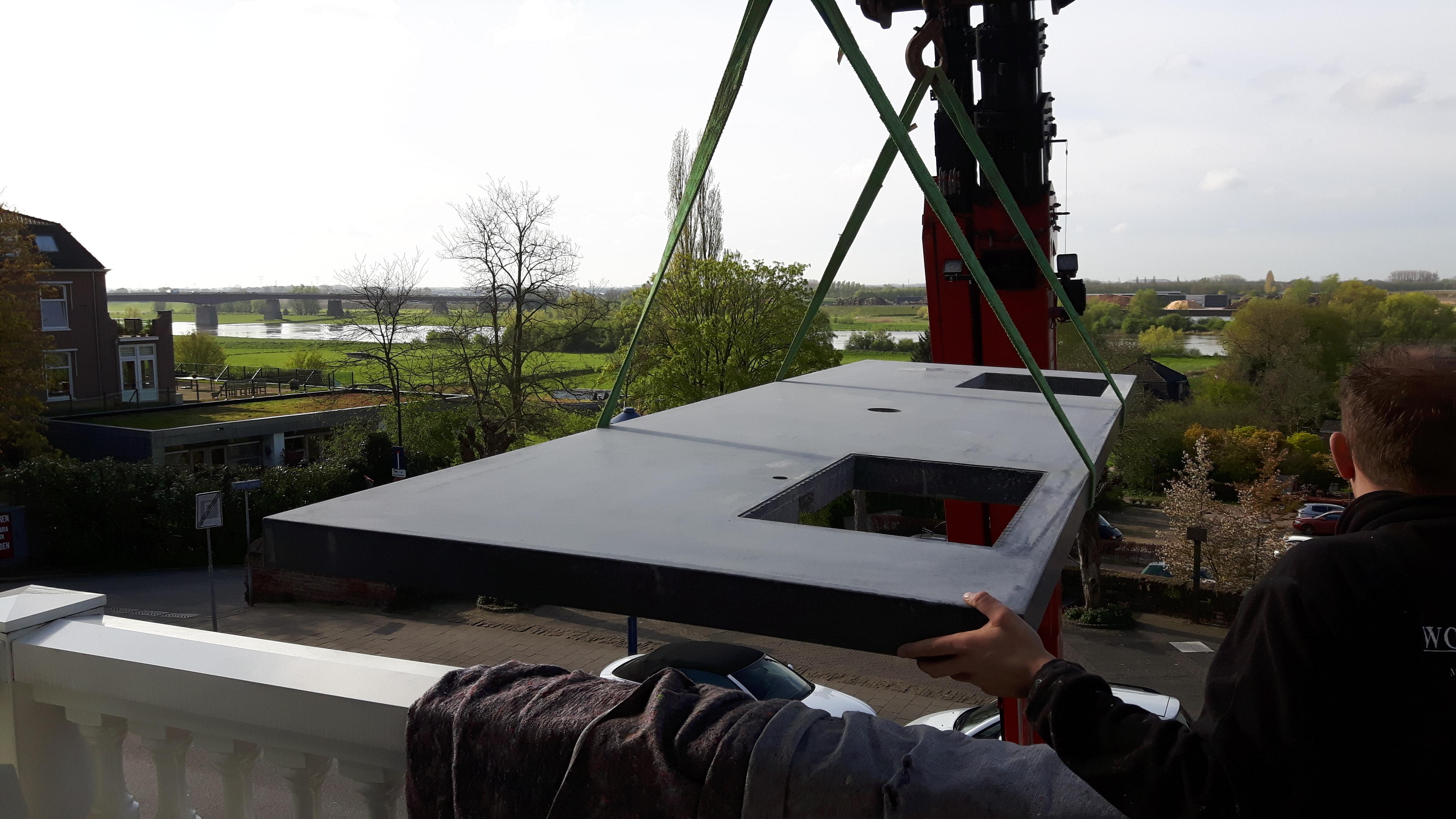 Betonnen Blad Badkamer : Kan een zwaar betonblad op een etage worden geplaatst