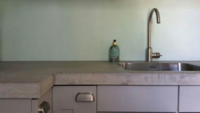 Keuken Met Beton : Beton cire in de keuken u a beton cire u a nieuws u a stuccentrum graafmans